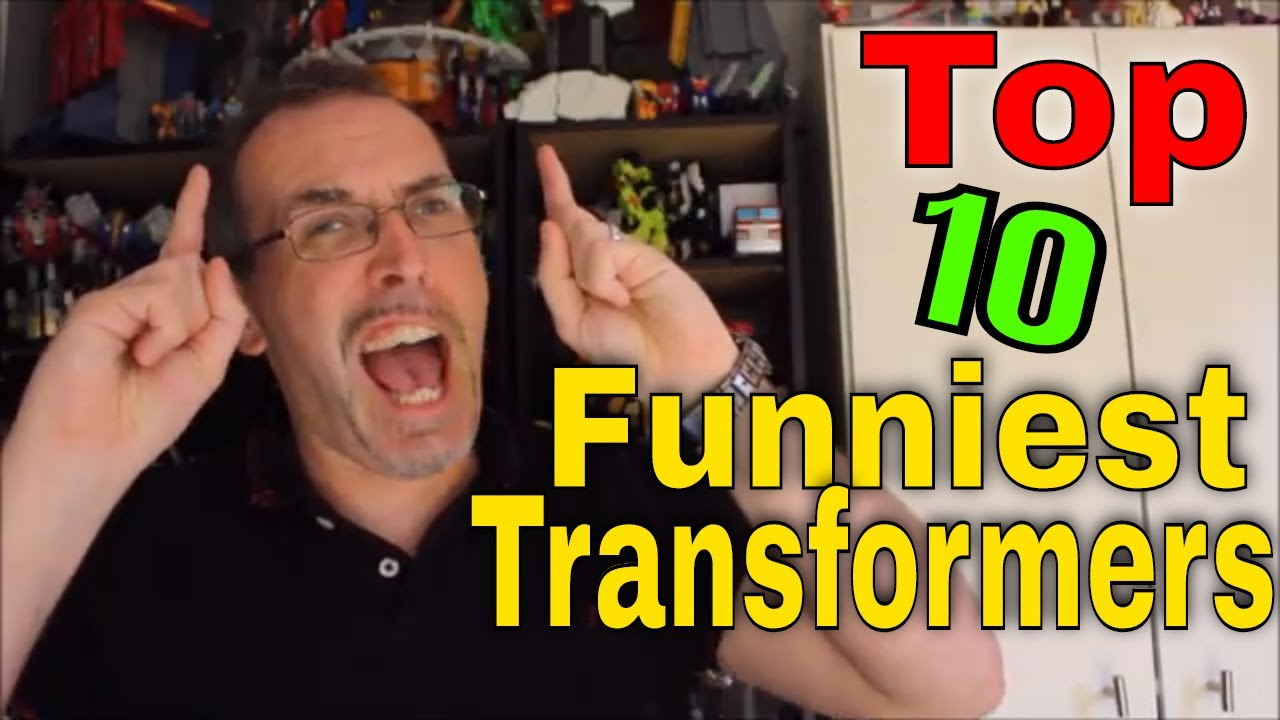 GotBot Counts Down: Top 10 Funniest Transformers