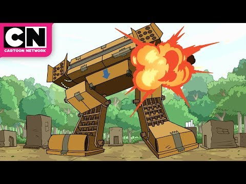 Craig of the Creek | Attack On Cardboard City | Cartoon Network