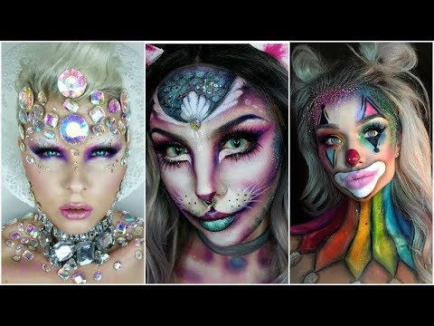 Top 17 DIY Halloween Makeup Tutorials Compilation 2019 Best Must see This,,,,,,,,,