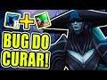 O BUG QUE NEM A RIOT GAMES ENCONTROU, O BUG DO CURAR! - (MYTHBUSTERS DO LOL)