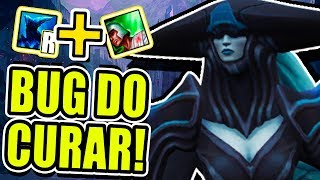 O BUG QUE NEM A RIOT GAMES ENCONTROU, O BUG DO CURAR! - (MYTHBUSTERS DO LOL)