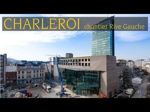 ORES - le chantier Rive Gauche à Charleroi