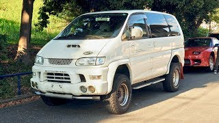 1999 Mitsubishi Delica Space Gear Turbo Diesel (UK Import) Japan Auction Purchase Review