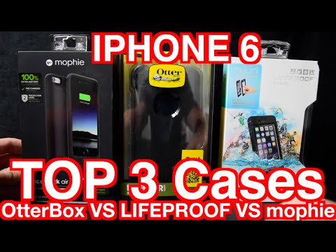 new arrival a69fc a4fce 2015 (OtterBox vs LIFEPROOF vs mophie) Unboxing, Review, Compariosn