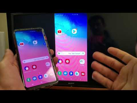 Galaxy S10/S10e/S10+: How To Screen Mirror To Sony Bravia TV (Wireless Connect)