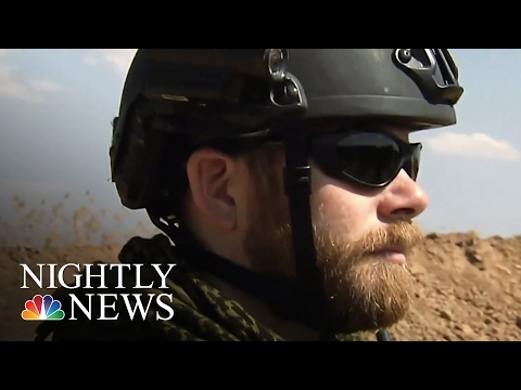 Kurds Fighting ISIS Joined By American Veterans   NBC Nightly News