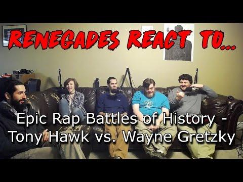 Renegades React to... Epic Rap Battles of History - Tony Hawk vs. Wayne Gretzky