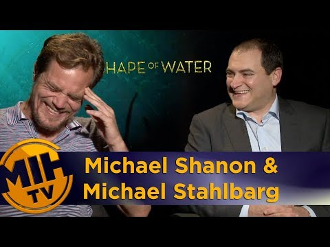 Michael Shannon and Michael Stahlbarg: The Shape of Water