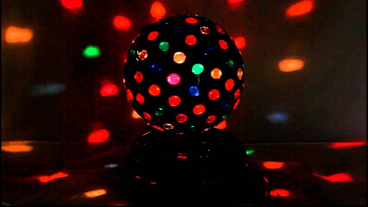 disco light ball youtube