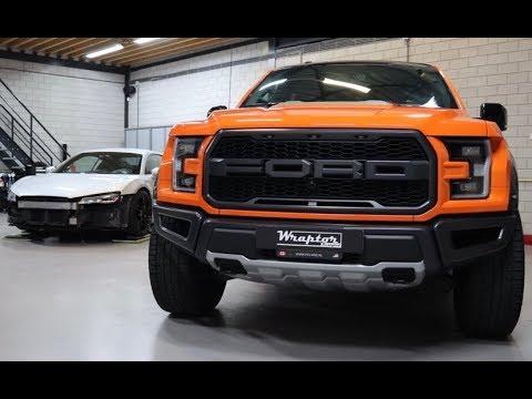 Wonderlijk Wraptor - Big Ford Raptor! Custom Orange Wrap! - YouTube WQ-53