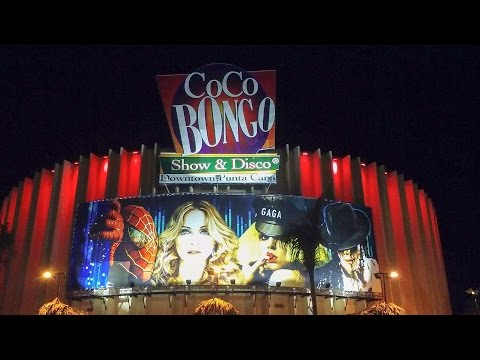 Coco Bongo in Cancun, Mexico