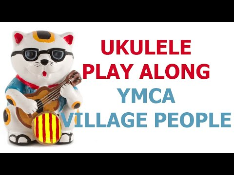 YMCA - Village People - Ukulele cover play along with chords and lyrics