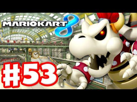 Mario Kart 8 - Gameplay Part 53 - 150cc Crossing Cup and Bell Cup DLC (Nintendo Wii U Walkthrough)