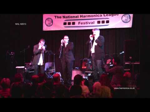 Armonauti Harmonica Trio @ H2013 NHL Bristol International Harmonica Festival