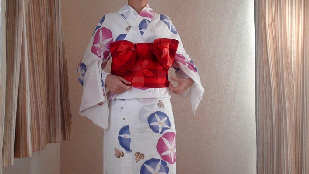 浴衣 リボン結び yukata