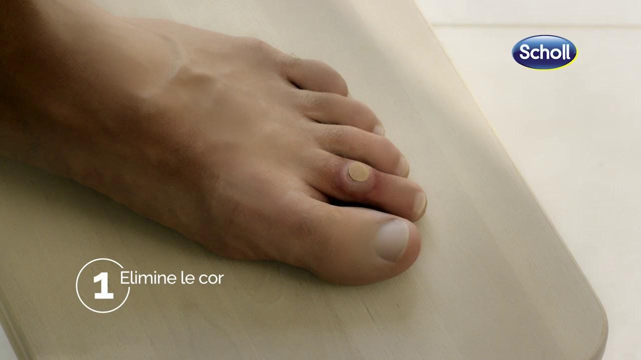 cor aux pieds