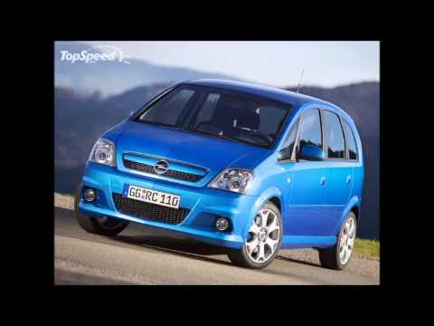 2006 Opel Meriva Opc Youtube