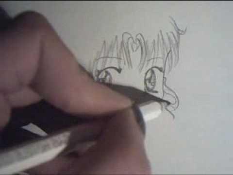 Come Disegnare Manga In 2 Minuti Youtube