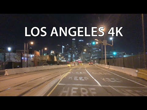 Los Angeles 4K - Night Drive
