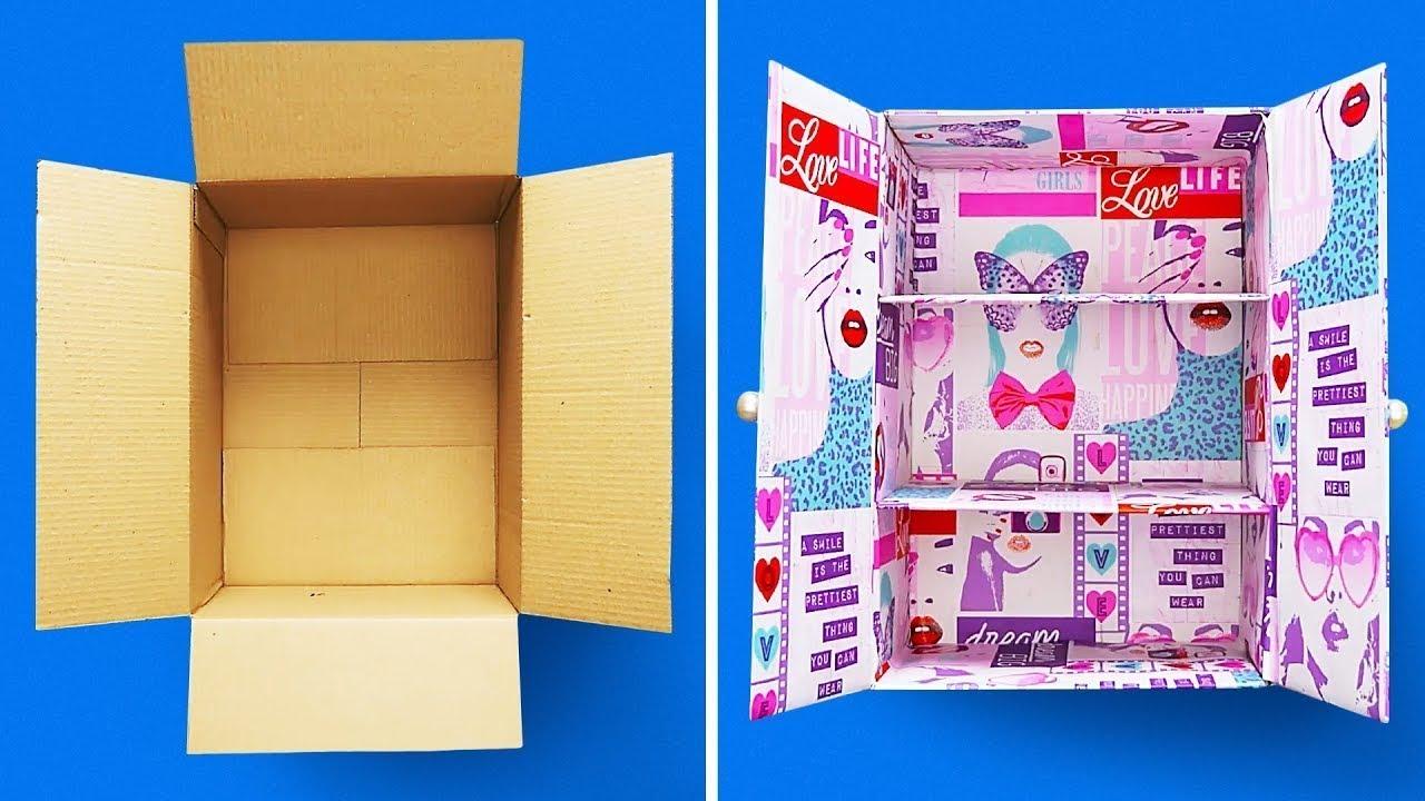 29 Manualidades De Cajas De Cartón