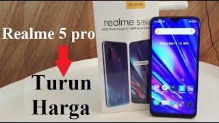 TURUN HARGA,  inilah harga Realme 5 Pro terbaru Indonesia.