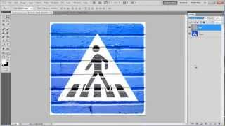 How to create a wall painting effect in Photoshop