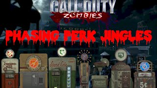 ALL MOB OF THE DEAD PHASING PERK JINGLES IN ORDER! / Thanks fo…