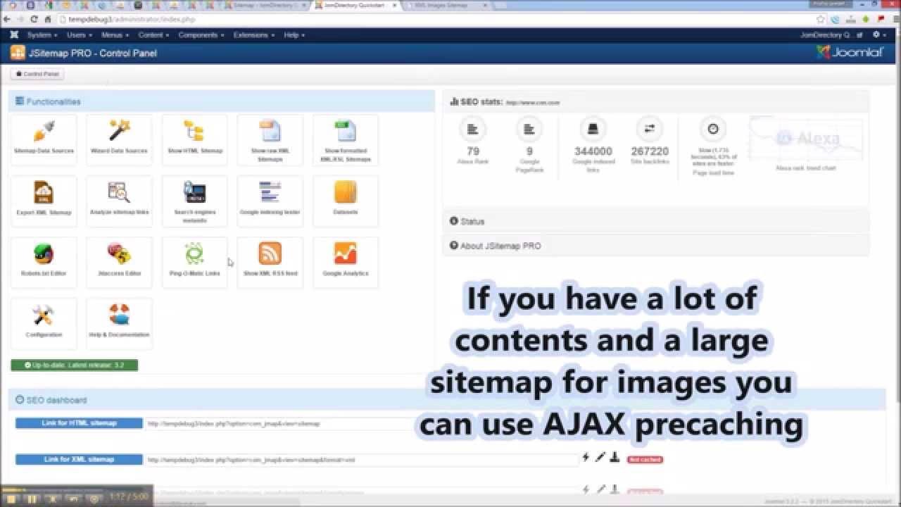 jsitemap professional configure an images sitemap youtube