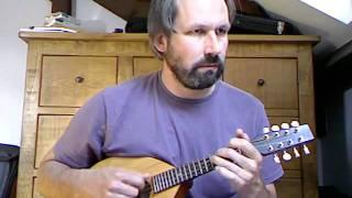 Mir ist ein schöns brauns Maidelein (trad. German), mandolin instrumental