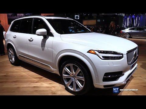 2017 volvo xc90 t8 inscription exterior and interior walkaround 2016 la auto show