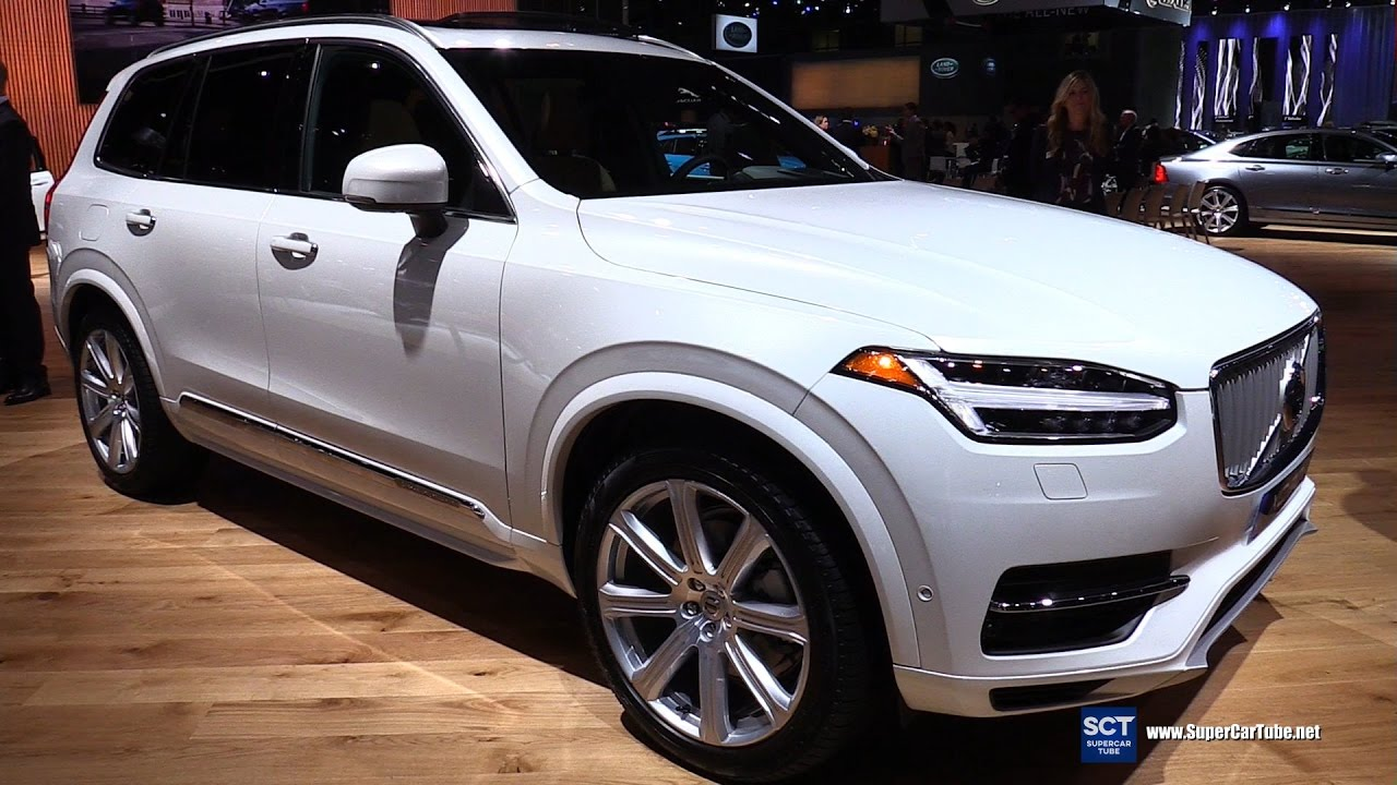 2017 Volvo Xc90 T8 Inscription Exterior And Interior Walkaround 2016 La Auto Show You