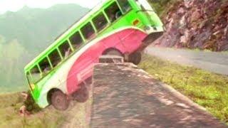 Ganesh And Bhama Bus Accident   Kannada Movie Scenes