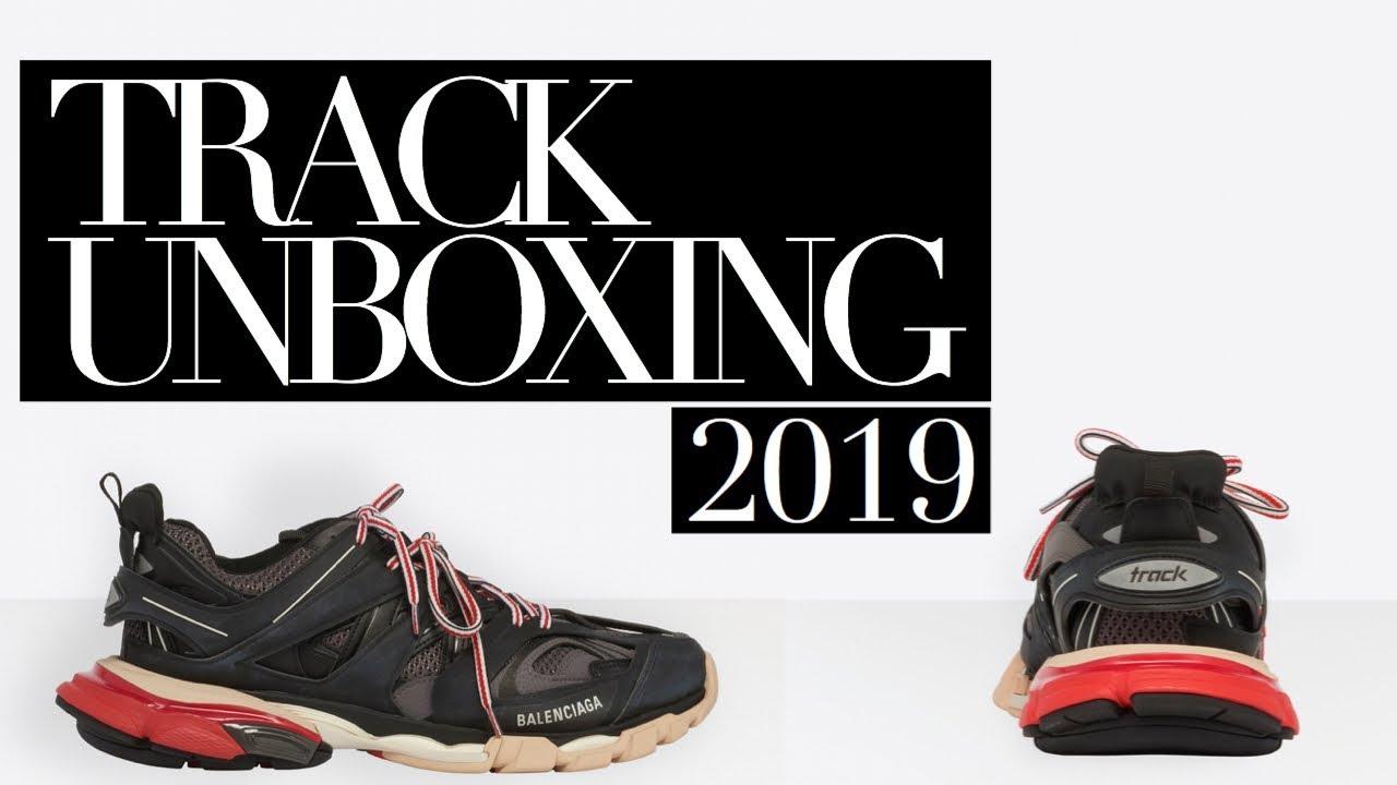 2019 BALENCIAGA TRACK Red \u0026 Black