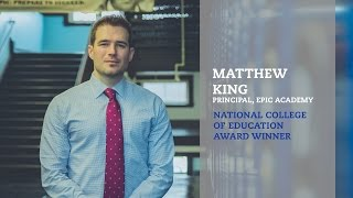 Repeat youtube video Matthew King | National College of Education | 2016 Reach Award Winner