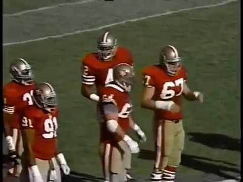 Green Bay Packers vs San Francisco 49ers 1989 Week 11