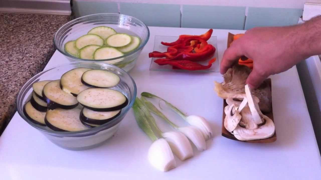 Parrillada de verduras de temporada youtube for Parrillada verduras