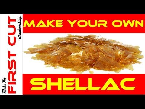 how to make shellac flakes