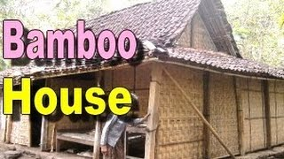 RUMAH GEDEK - Traditional BAMBOO HOUSE in Java Indonesia - Rumah Tradisional Jawa [HD] - Stafaband