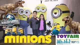 MINIONS vs. INDOMINUS REX!!! Jurassic World, Fart Blaster, LEGO, Mega Bloks, Twinkie Minions!