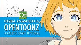 Digital Animation in OpenToonz: A Quick Start Guide (Animating a head turn)