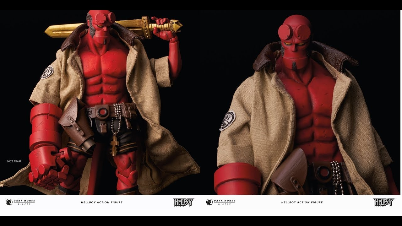 Hellboy Action Figure Youtube