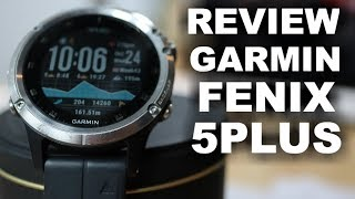 GARMIN FENIX 5 PLUS - REVIEW FINAL DESPUÉS SEMANAS DE USO!!