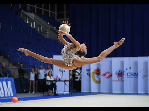 Anna Popova - Ball/Young Gymnasts-2019 AA 20.55