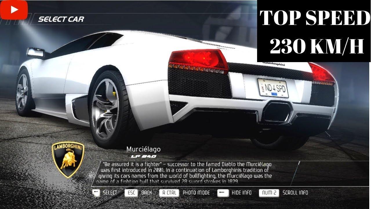 Need For Speed Hot Pursuit 2010 Pc Gameplay Lamborghini Murcielago
