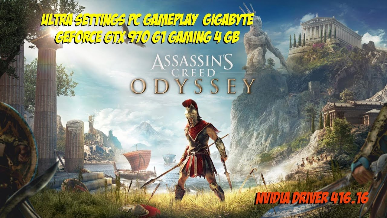 Assassin S Creed Odyssey Max Settings Pc Gameplay Gtx 970 Youtube