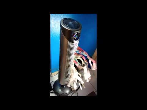 The Ozeri Ultra 42 inch Wind Fan is the Rolls-Royce of fans-Tower Fan with Noise Reduction - Review