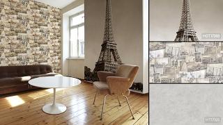 видео Фотообои Париж и Эйфелева башня (29 фото интерьеров)