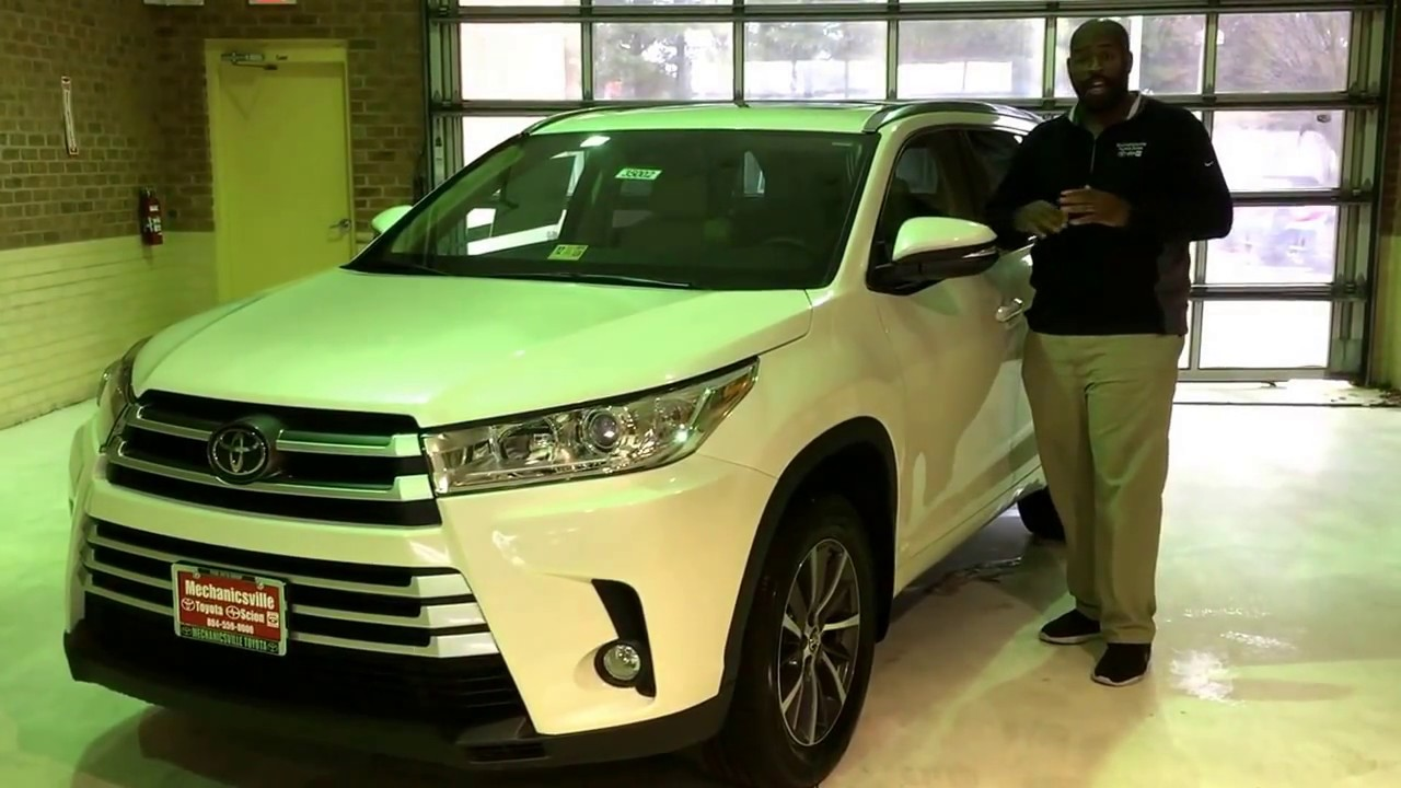 2017 Toyota Highlander Xle Interior Exterior Review With James Burroughs