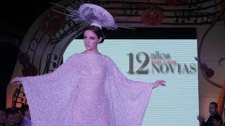 Desfile 12 Años Mary Lizzie Novias   Museo de Arte Contemporáneo    Santa Cruz Bolivia
