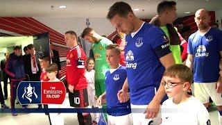 Everton 1-2 Manchester United - Tunnel Cam (2015/16 Emirates FA Cup Semi-Final) | Inside Access
